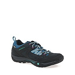 Merrell - Dark grey 'Azura Lapis' Waterproof Womens Sports Trainers