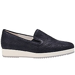 Gabor - Navy 'Editor' Womens Casual Shoes