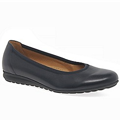 Gabor - Dark blue 'splash' womens casual shoes