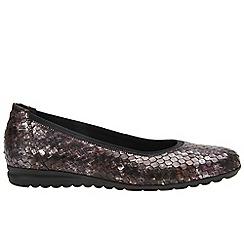 Gabor - Maroon 'Splash' Womens Casual Shoes