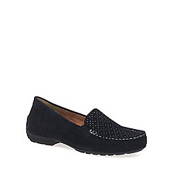 Gabor - Navy 'Annemarie' Womens Casual Slip On Shoes