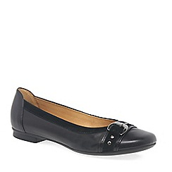 Gabor - Black 'Indiana' Womens Casual Pumps