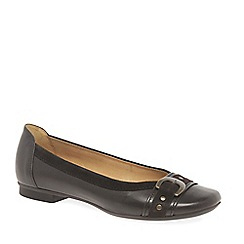 Gabor - Brown 'Indiana' womens casual pumps