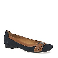 Gabor - Dark blue 'Indiana' Womens Casual Pumps