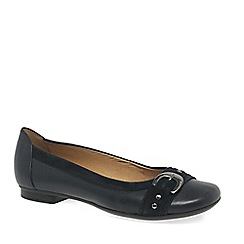 Gabor - Navy 'Indiana' womens casual pumps