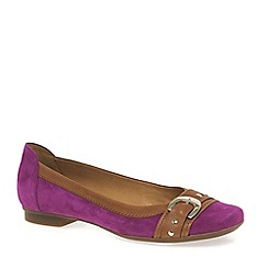 Gabor - Dark pink 'Indiana' Womens Casual Pumps