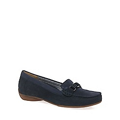 Gabor - Navy Estate Womens Slip On Shoes