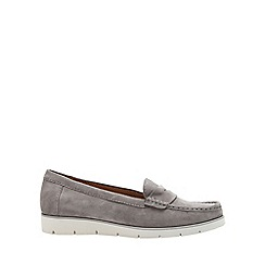 Gabor - Grey 'Portland' Womens Slip On Shoes