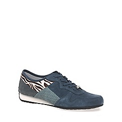 Gabor - Blue 'Haddaway' Womens Trainers
