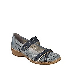 Rieker - Light blue 'Grange' Womens Casual Shoes