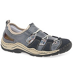 Rieker - Navy 'Cord' Womens Casual Sports Shoes