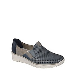 Rieker - Blue 'Roy' Womens Casual Shoes