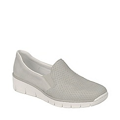 Rieker - Light grey 'Melgar' Womens Casual Shoes