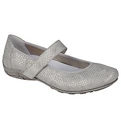 Rieker - Metallic 'Marni' Womens Casual Shoes