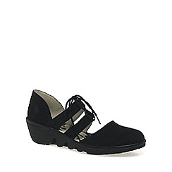 Fly London - Black 'Poma' Womens Casual Shoes