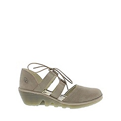 Fly London - Taupe 'Poma' Womens Casual Shoes