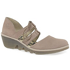 Fly London - Beige 'Poma' womens casual shoes
