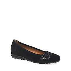 Gabor - Black 'Rhiannon' Womens Wide Fit Shoes
