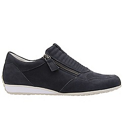Gabor - Navy 'Brunello' Womens Casual Sports Trainers