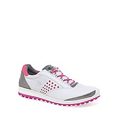 Ecco - White 'Biom Hybrid 2' Womens Golf Shoes