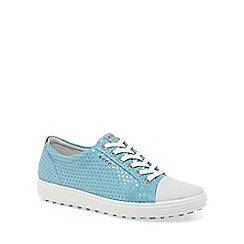 Ecco - Light blue 'Casual Hybrid' Womens Golf Shoes