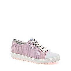 Ecco - Light pink 'Casual Hybrid' Womens Golf Shoes