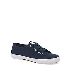 Marco Tozzi - Navy 'Helki' Womens Canvas Shoes