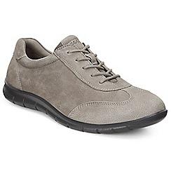 Ecco - Grey 'Babett Lace' womens casual shoe