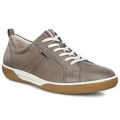 Ecco - Grey 'Chase II Lace' womens casual shoe