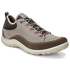 Ecco - Grey 'Aspina' womens casual sports shoes