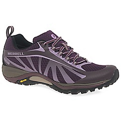 Merrell - Purple 'Siren Edge' womens waterproof sports shoes