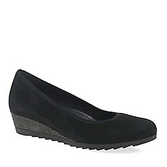 Gabor - Black 'Epworth' womens modern ballerina shoes