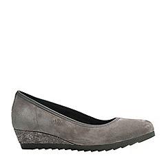 Gabor - Grey 'Epworth' Womens Modern Ballerina Shoes