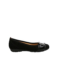 Gabor - Black 'Cullin' Womens Ballerina Pump Shoes