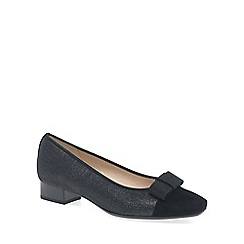 Peter Kaiser - Black 'Nancy' Womens Black Low Heel Pumps
