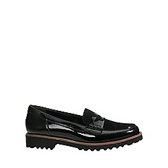 Gabor - Black patent 'Skipper' Womens Casual Shoes