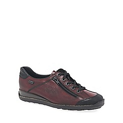 Rieker - Maroon 'Rumour' womens casual shoes