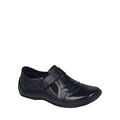 Rieker - Black 'Chilver' womens casual shoes