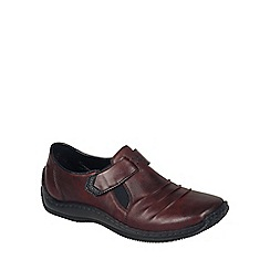 Rieker - Wine 'Chilver' womens casual shoes