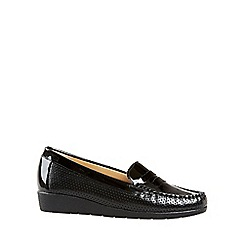 Van Dal - Black 'Sheldon' womens casual moccasins