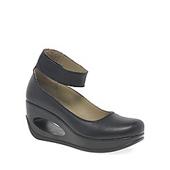 Fly London - Black 'Heli' womens casual shoes