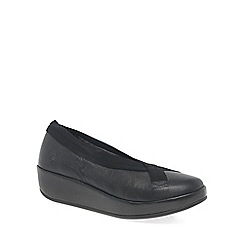 Fly London - Black 'Bobi' womens casual shoes