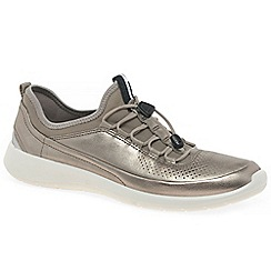 Ecco - Silver 'Soft 5 toggle 'womens sports shoes