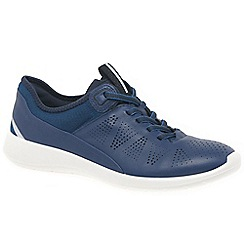 Ecco - Navy 'Soft 5' womens sports trainers