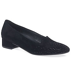 Gabor - Navy 'shape' womens casual slip on shoes