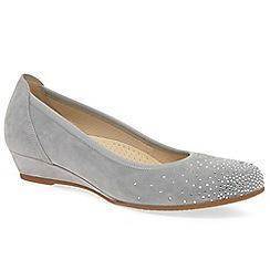 Gabor - Light grey 'arya' womens casual shoes