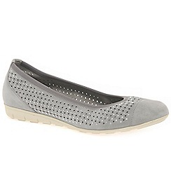 Gabor - Grey 'Zara' womens casual shoes