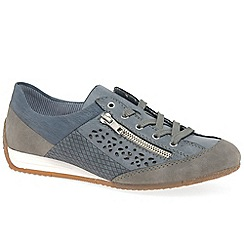 Rieker - Blue 'Hex' casual trainers