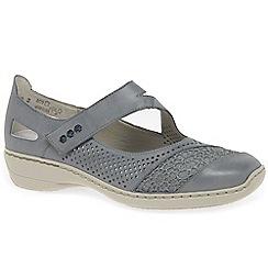Rieker - Blue 'Roya' Mary Jane Shoes
