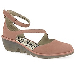 Fly London - Rose 'Plan' wedge heel shoes